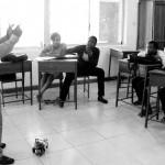 Philip Teaches Robotics in B&W